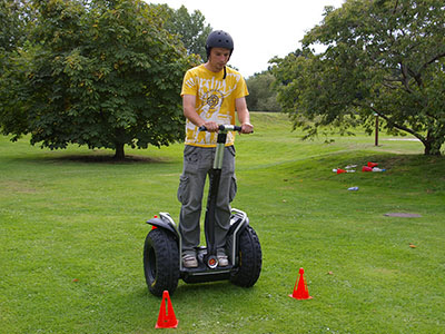 segway corporate team building
